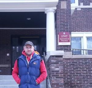 At Politics Institute, University of Chicago, 2013