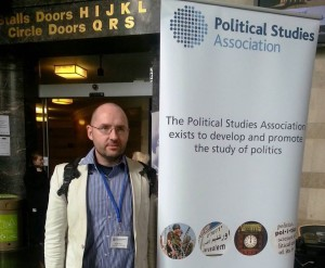 At PSA conference in Sheffield, 2015