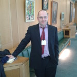 At Portcullis House, Westminster, London, 2012, after speaking to the Political and Constitutional Reform Select Committee of the House of Commons