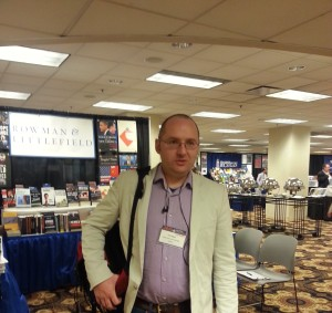 At MPSA annual conference in Chicago, 2014