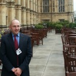 At House of Commons UK after speaking to the Committee on Standards in Public Life, 2013