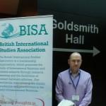 At BISA conference, 2014